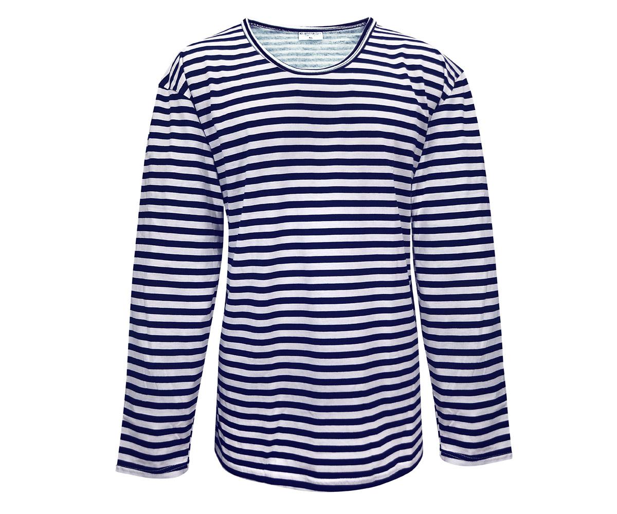 Marine Langarm Shirt Winter