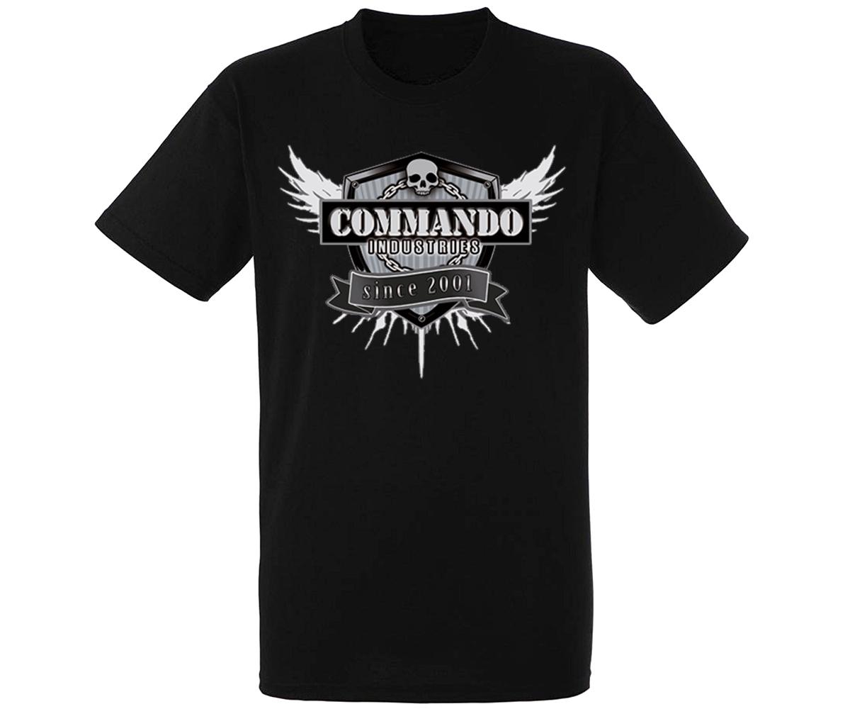 Commando Heroes Line T-Shirt 3