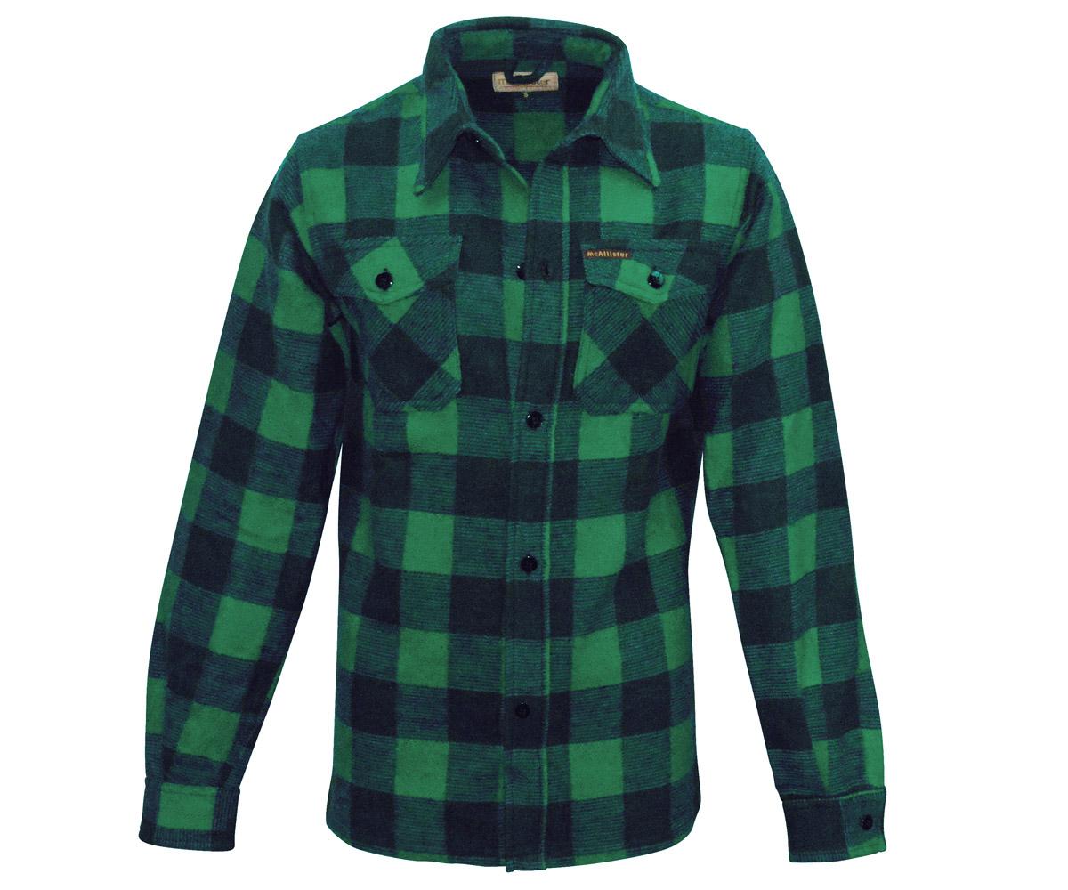 Holzfäller Hemd grün