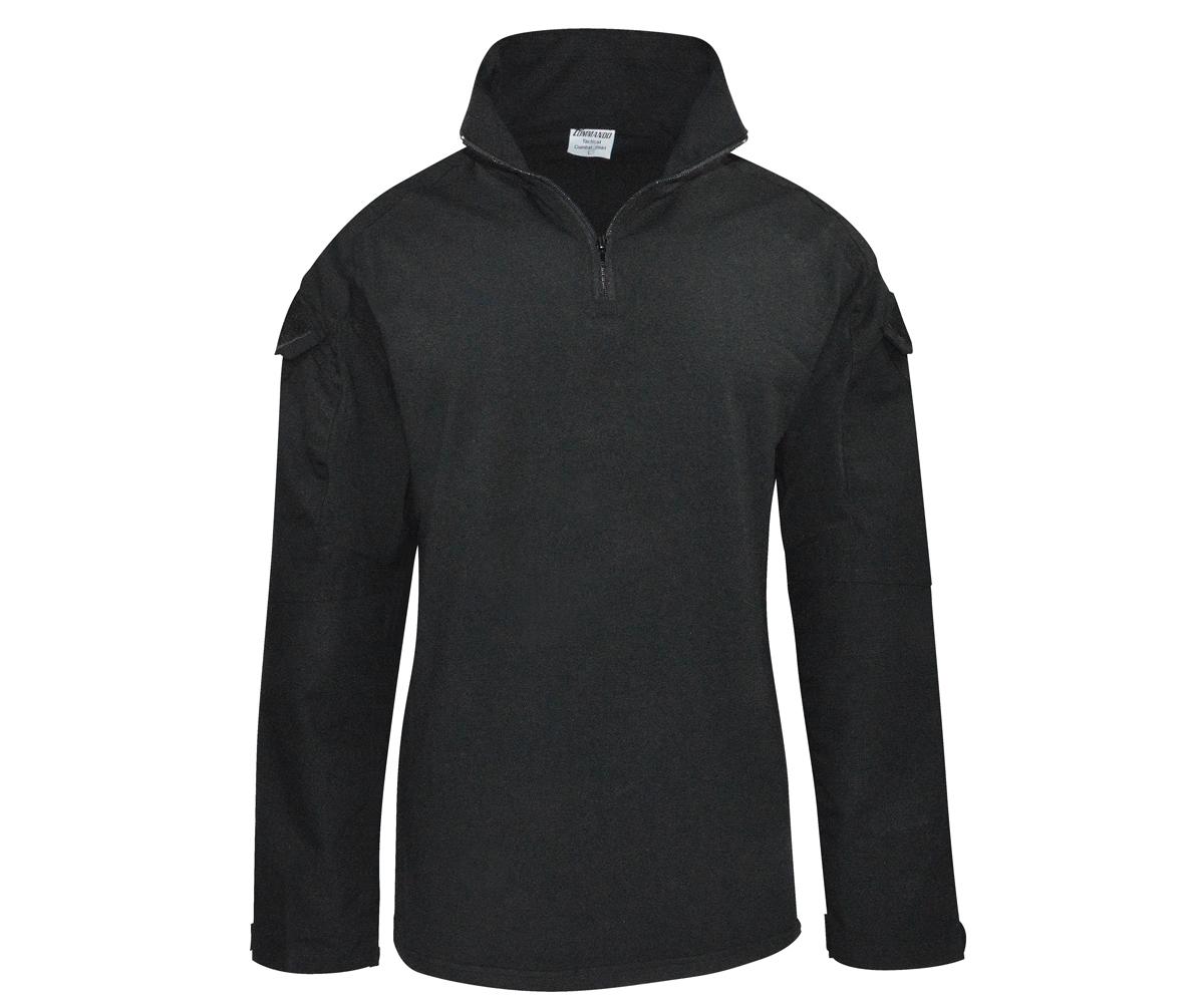Tactical Langarm Shirt schwarz
