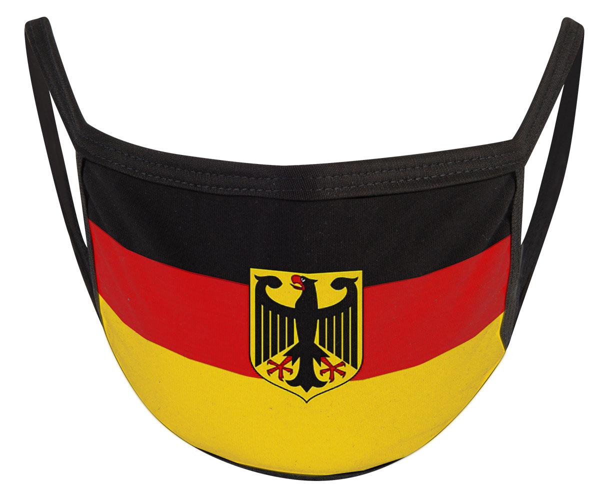 Deutschland mit Adler Mund Nasen Maske