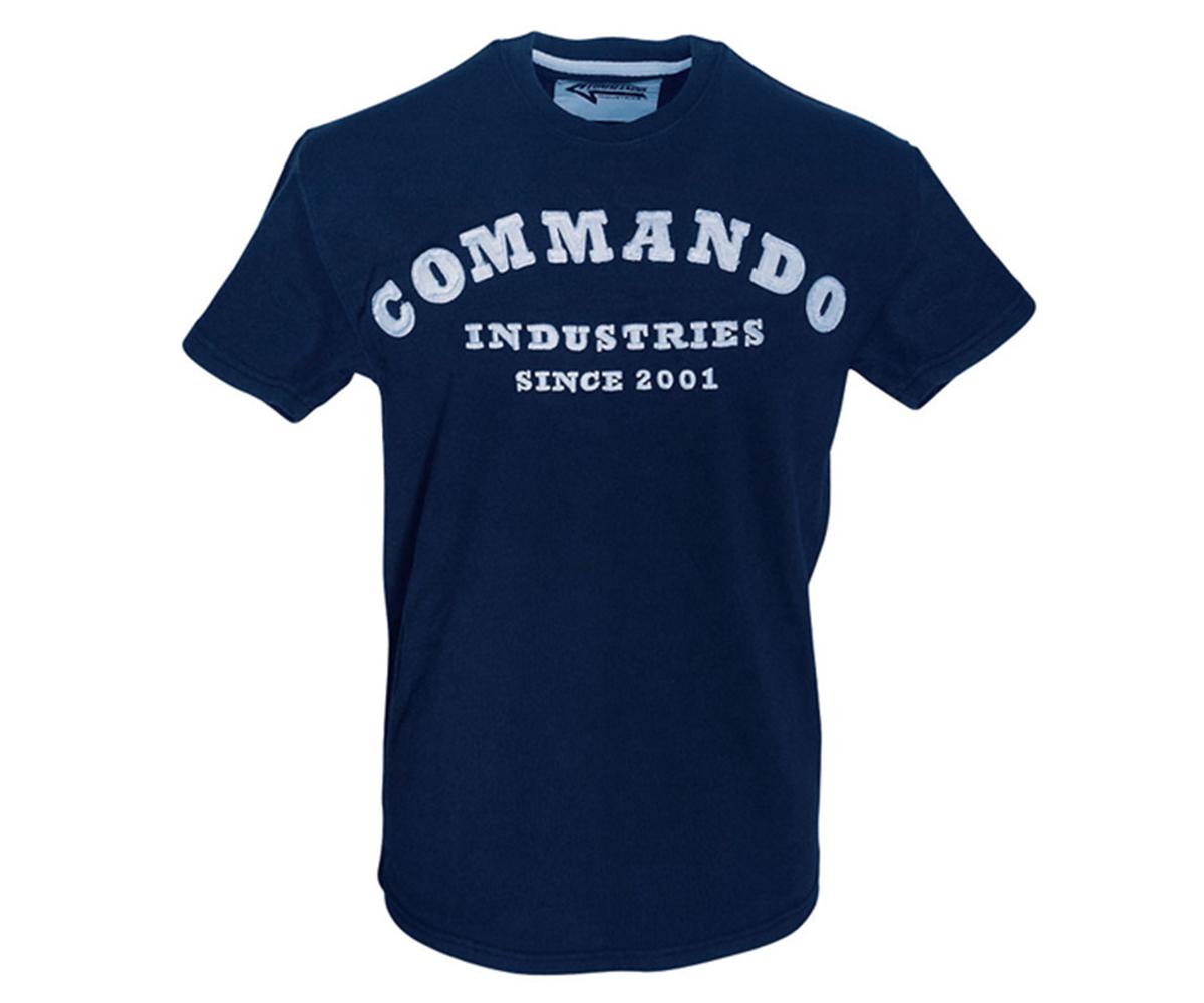 Commando Vintage 2001 T-Shirt navy