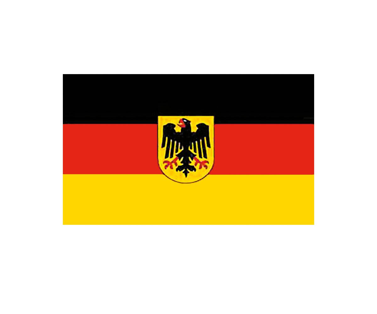 Fahne 150 x 250 cm Deutschland mit Adler