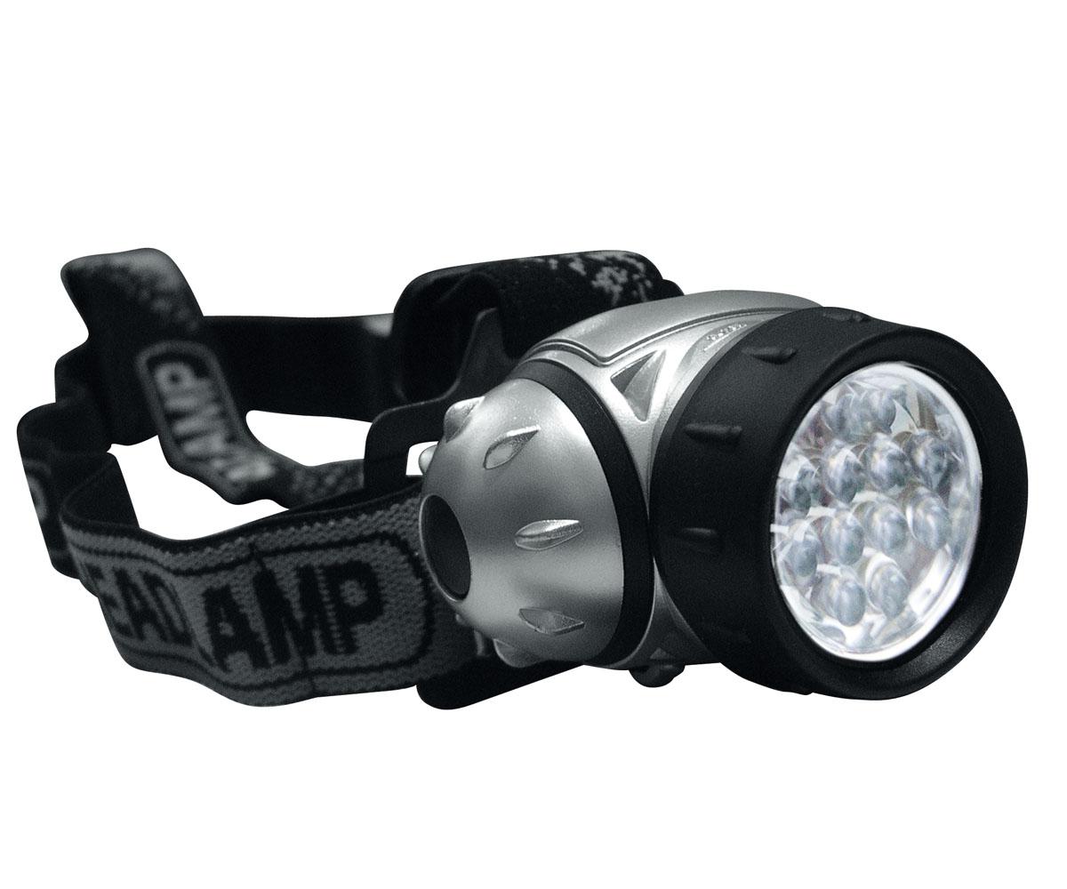 12 LED Kopflampe