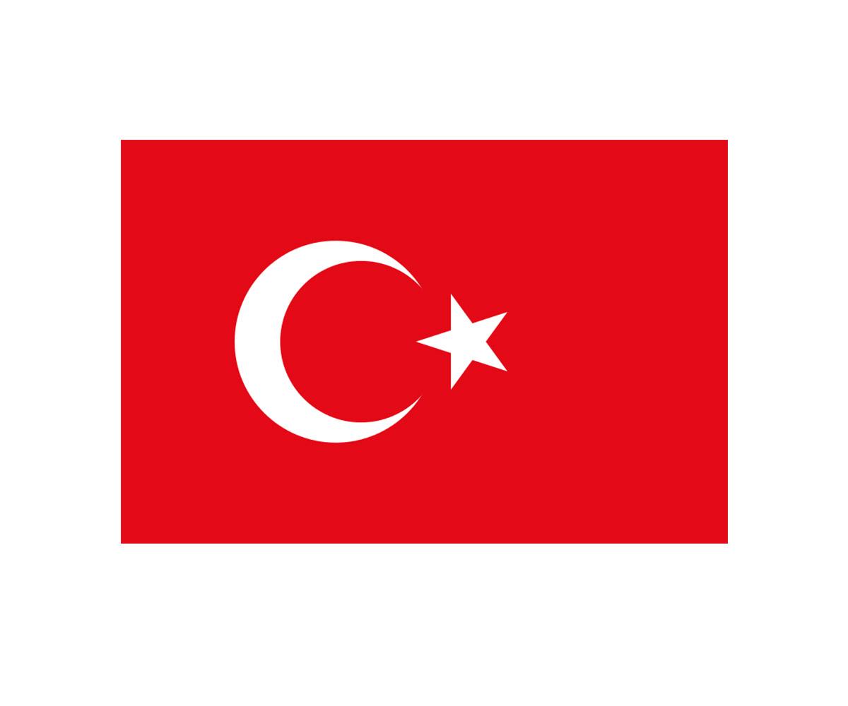 Fahne 90 x 150 cm Türkei