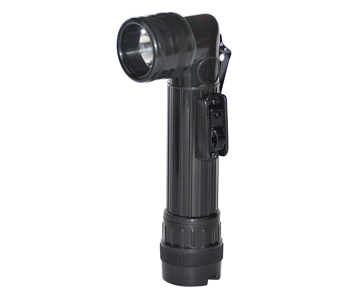 Winkel Taschenlampe klein schwarz