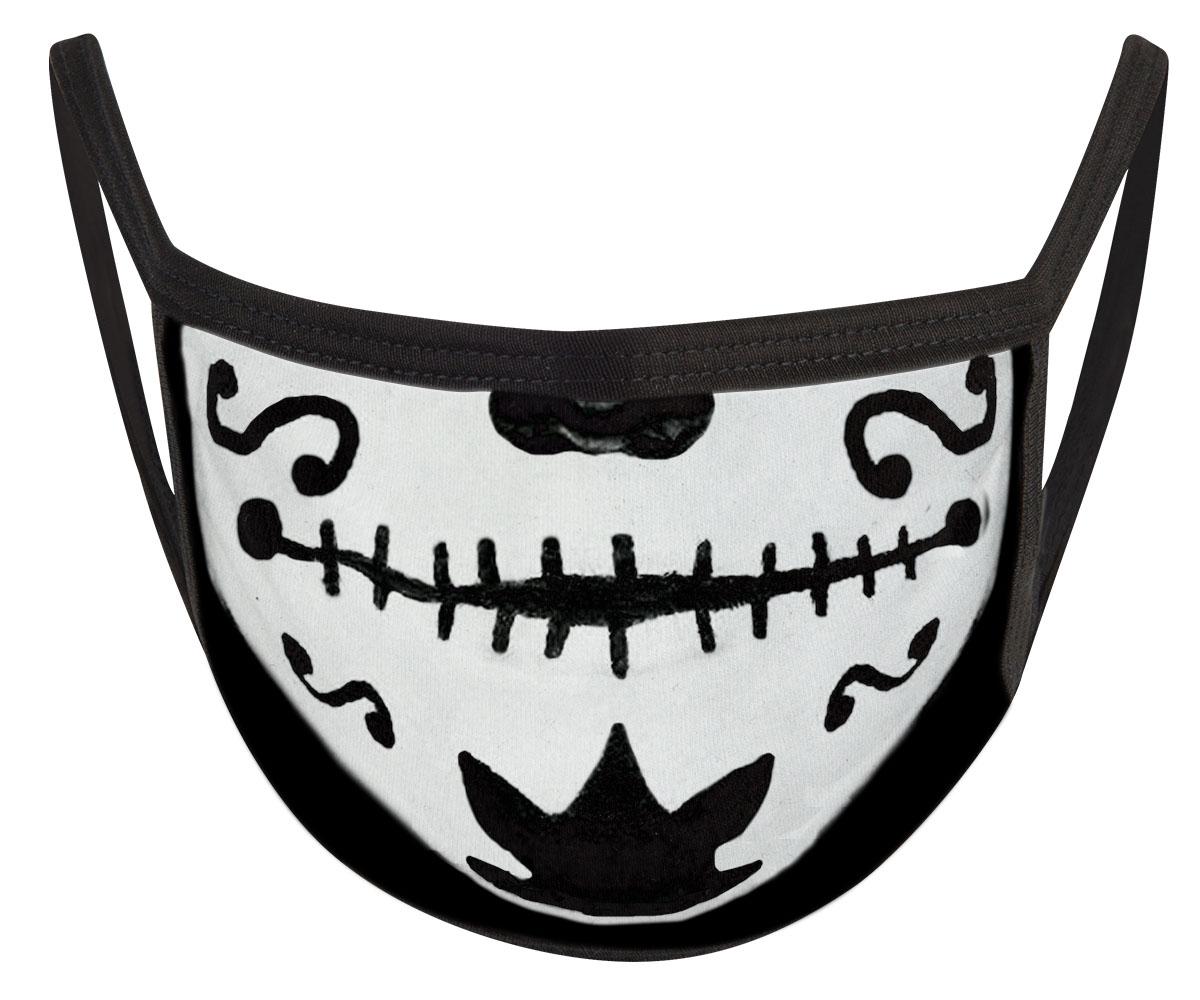 Catrina Skull Mund Nasen Maske