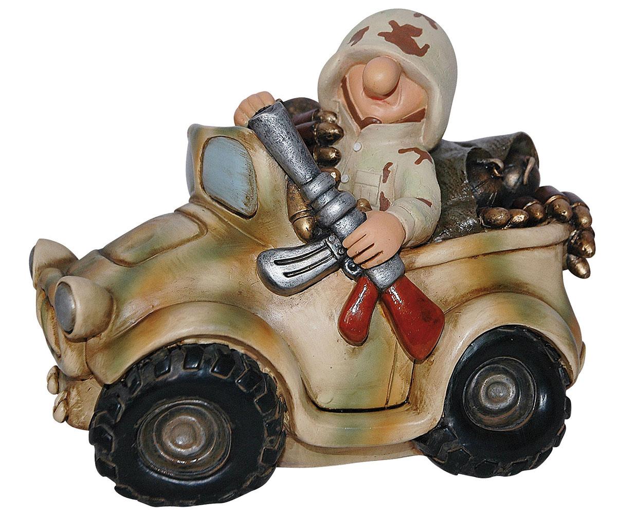 Fun Division Soldat Geländewagen Spardose Deserttarn FDD4
