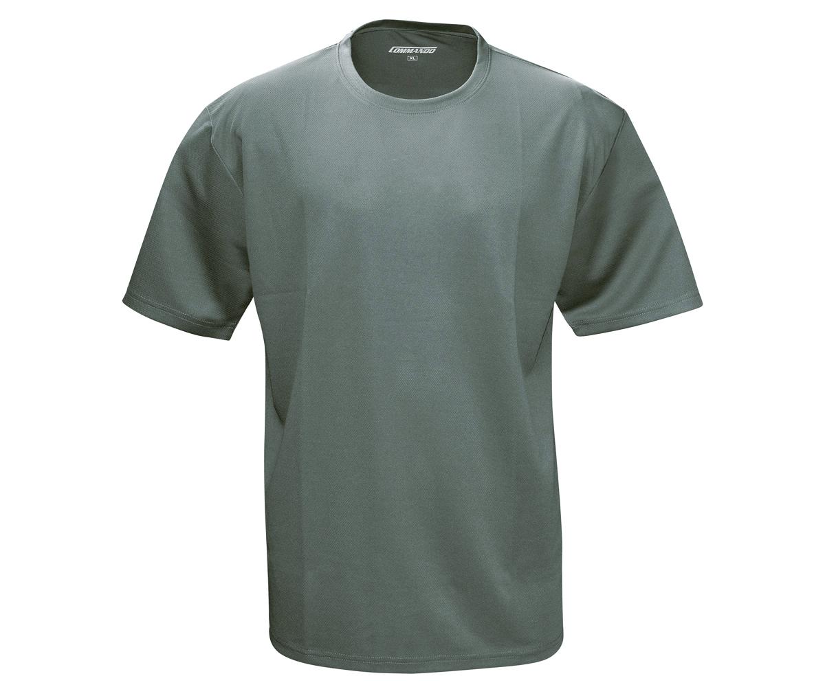 Tactical Funktions T-Shirt QuikDry grau