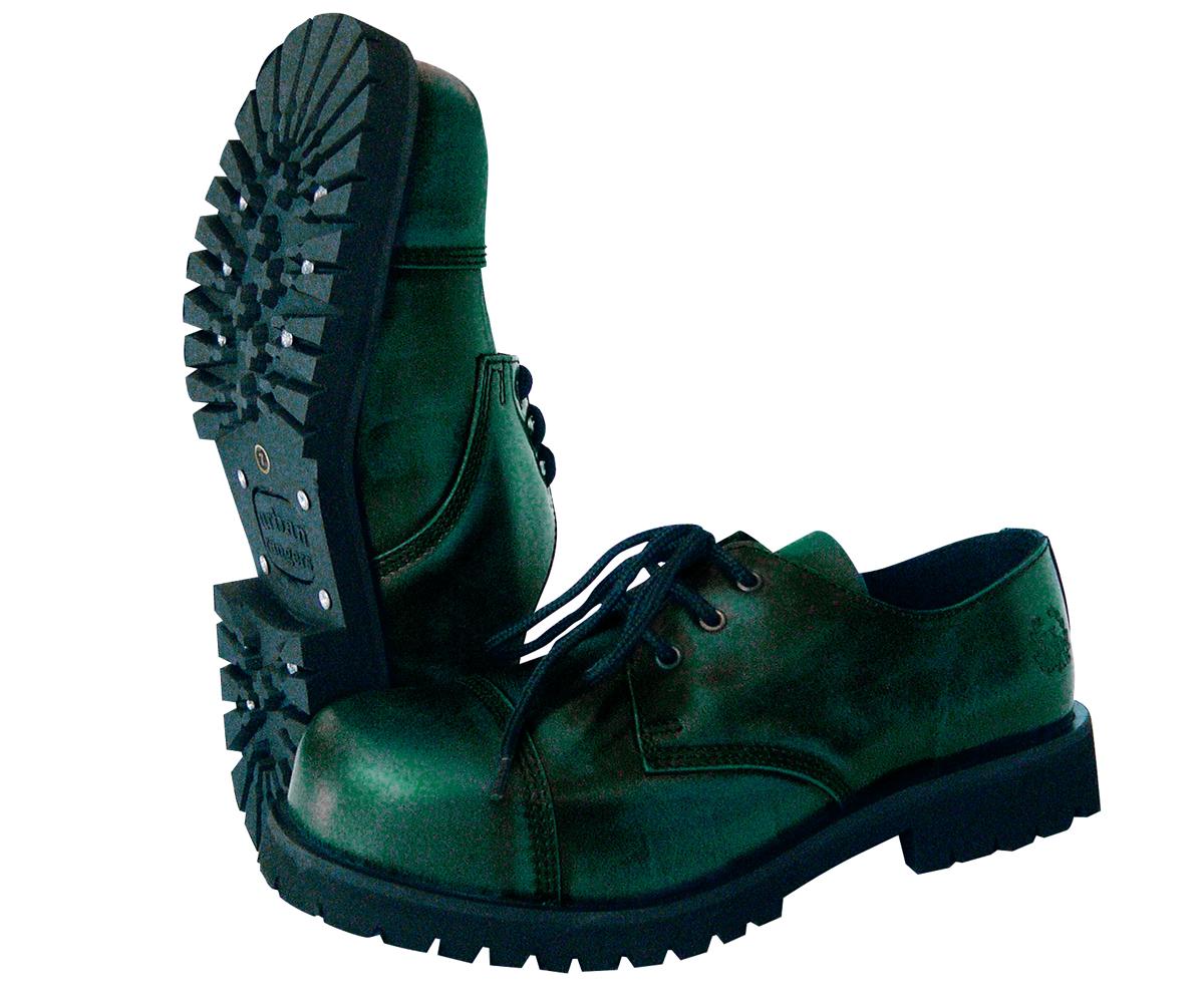 3 Loch Ranger Boots rub off grün