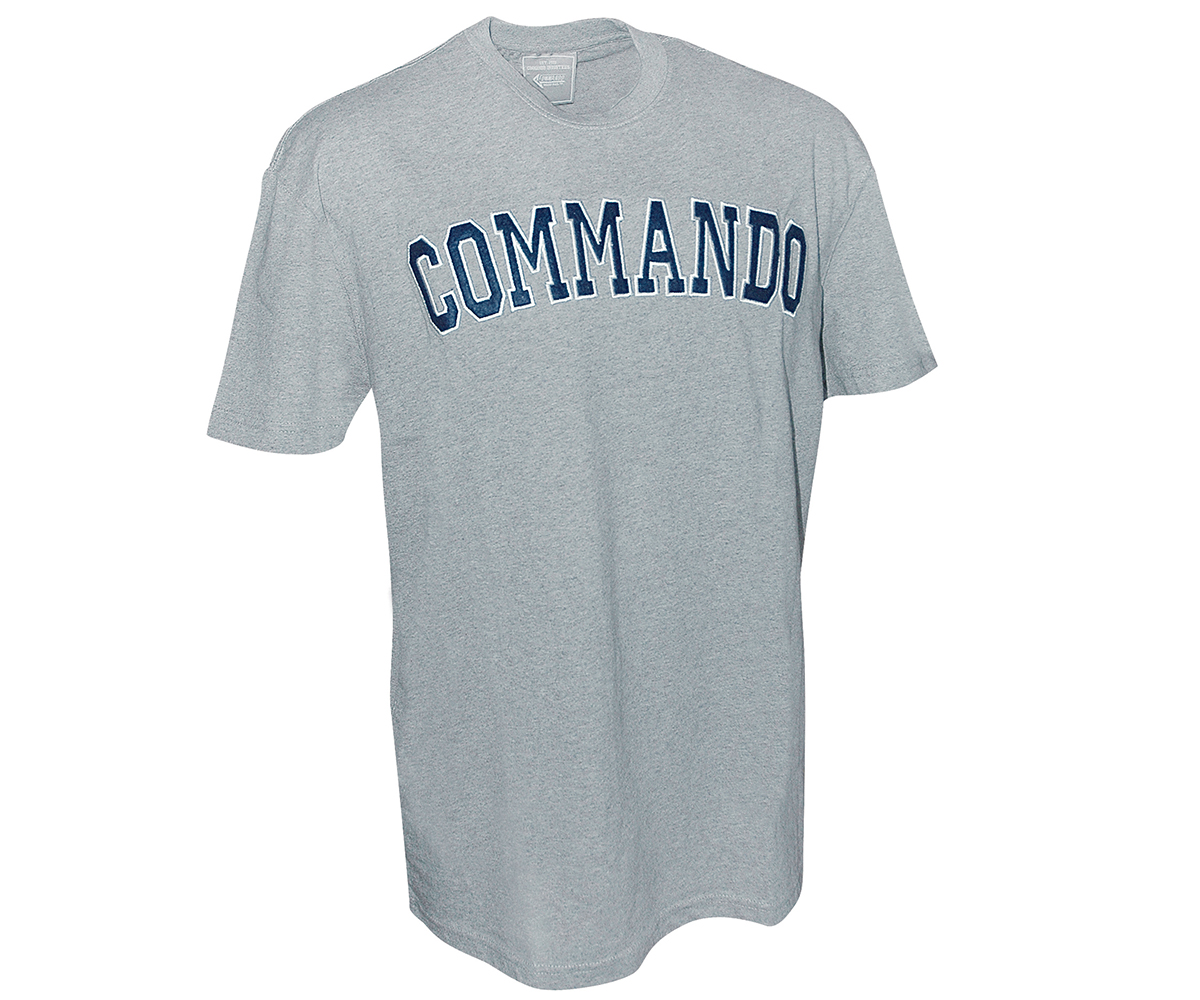 Commando APP T-Shirt grau meliert