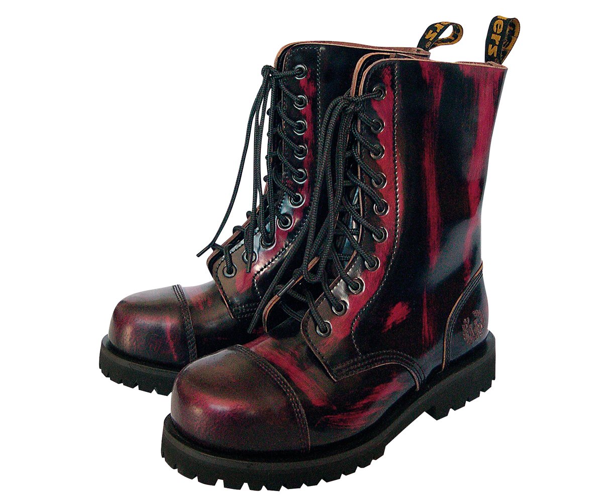 10 Loch Ranger Boots rub off red