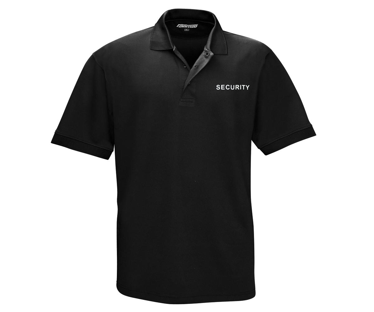 Security Polo Shirt QuikDry