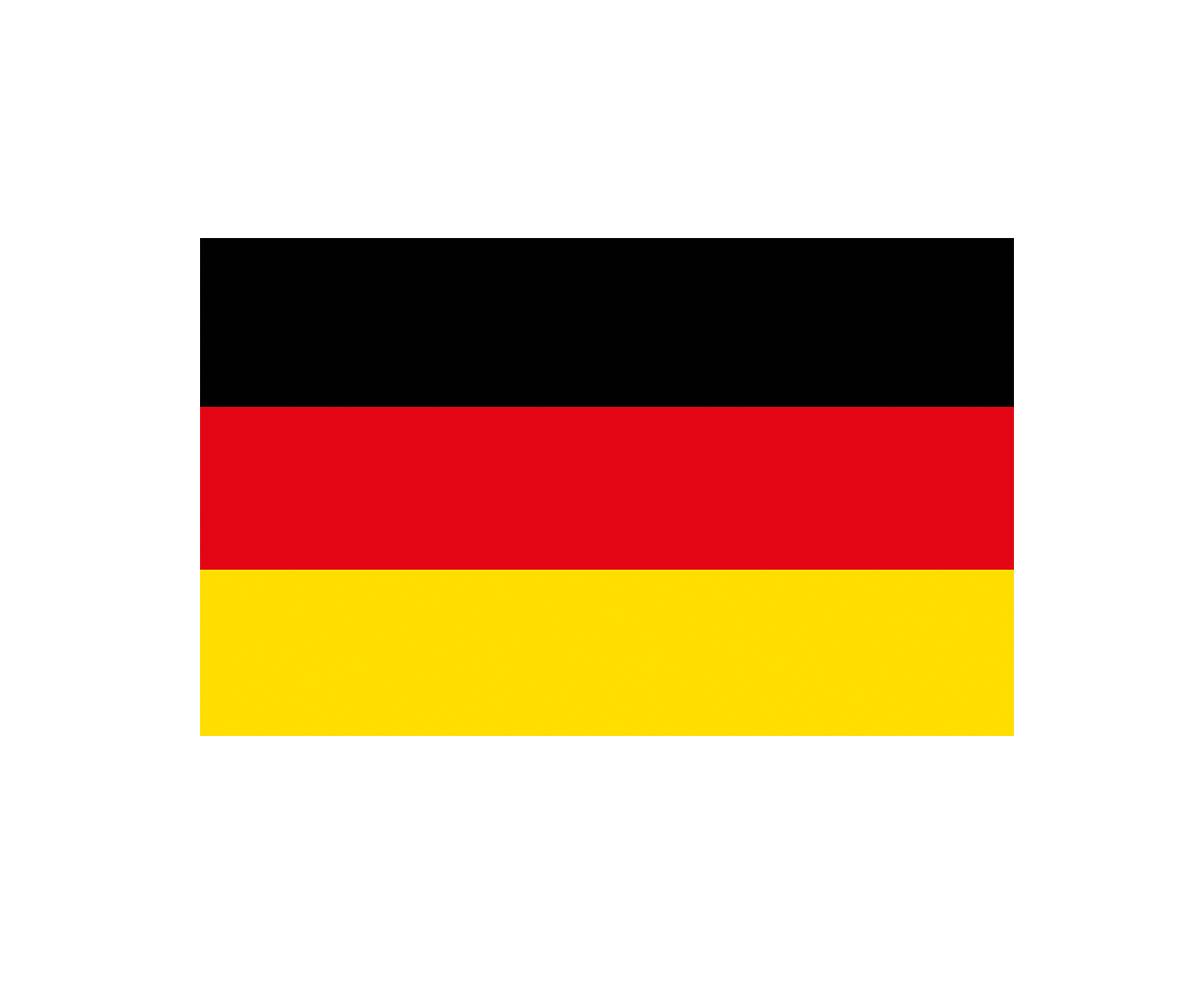 Fahne 150 x 250 cm Deutschland