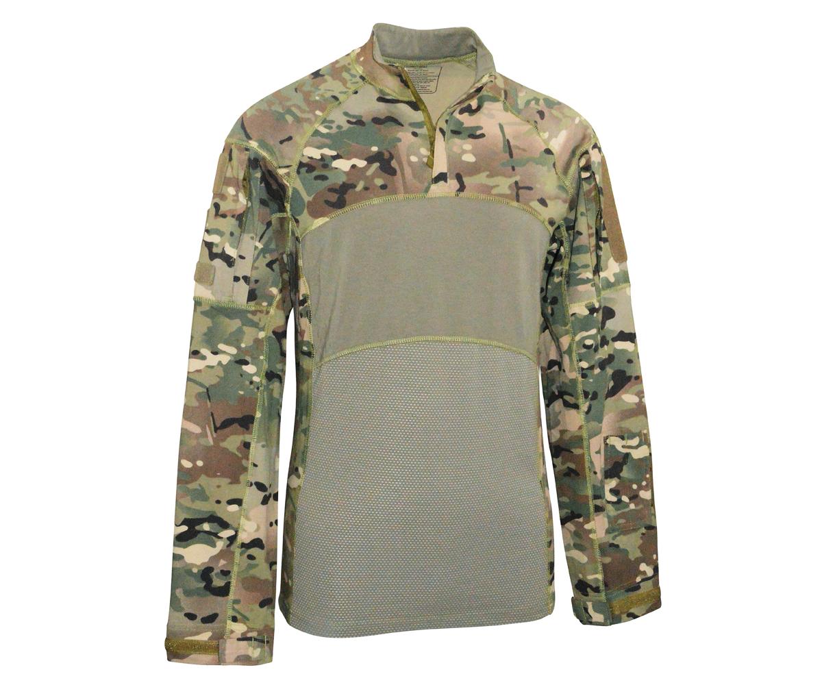 Tactical Langarm Shirt Generation II Tac OP camo
