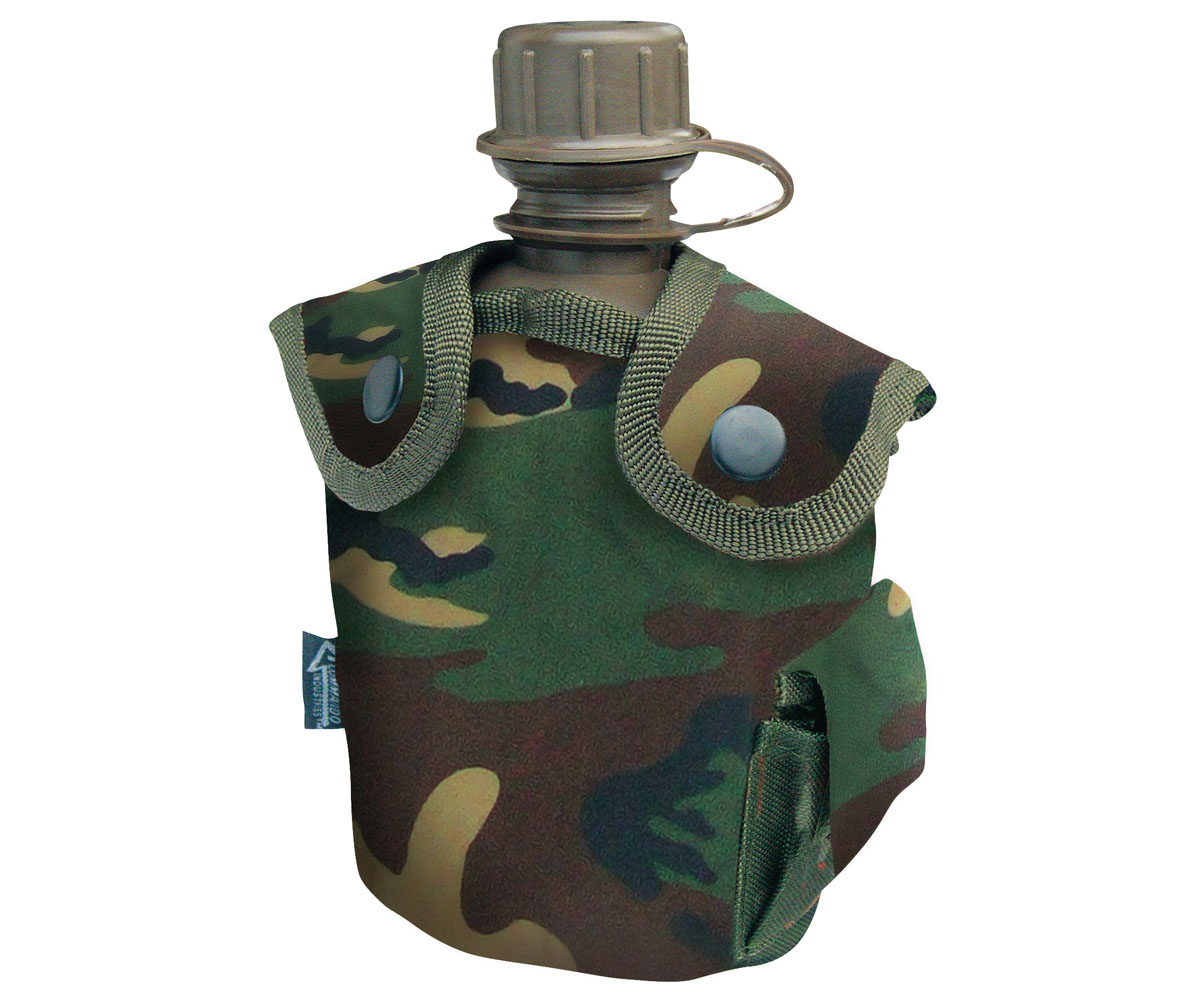 Feldflasche Army Style woodland