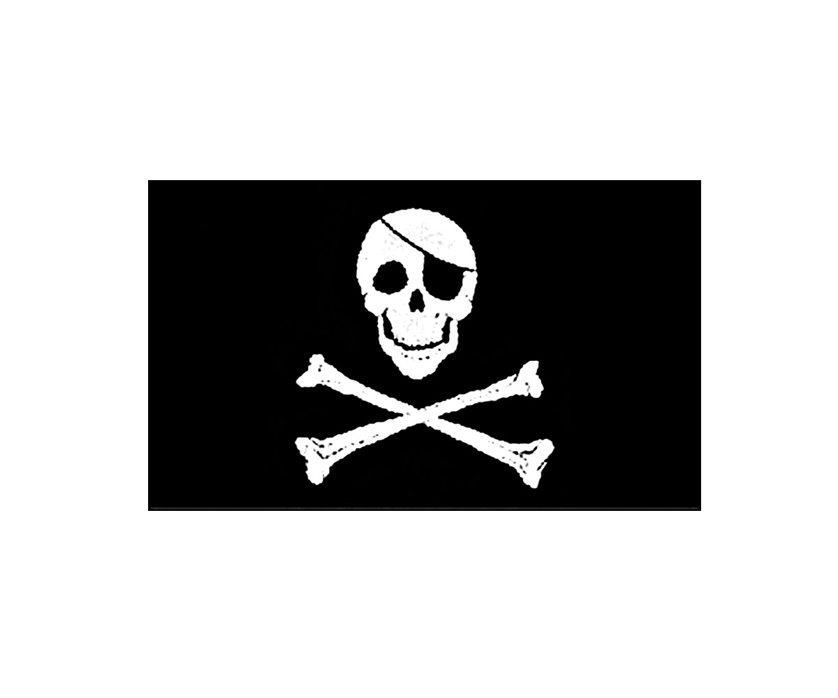 Fahne 90 x 150 cm Jolly Roger