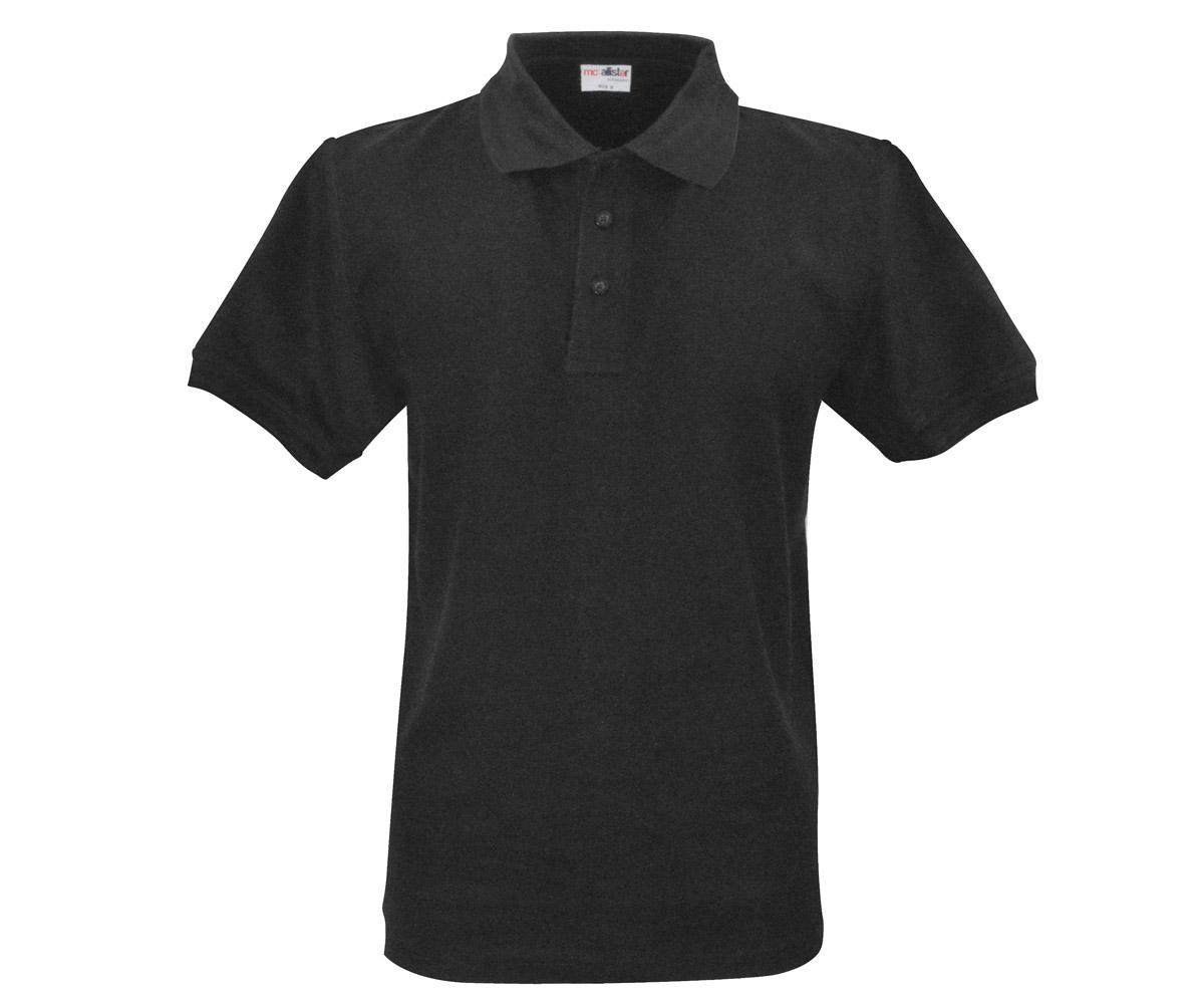 Polo Shirt Active Wear schwarz