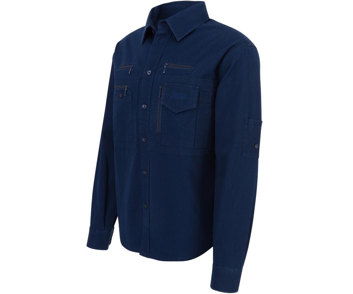 Outdoor Cargo Traveller Hemd navy blau
