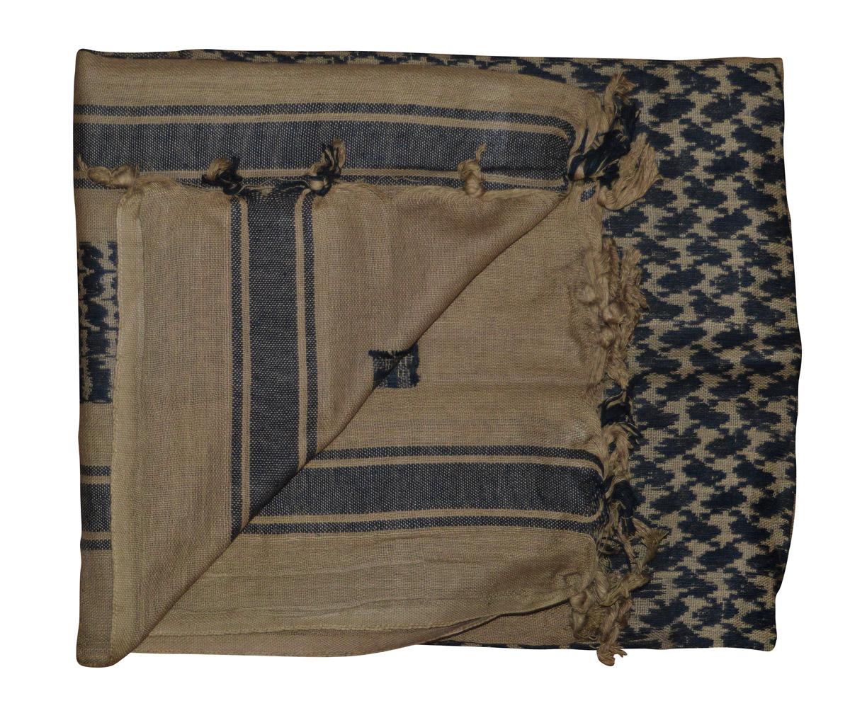 Shemagh Tuch braun - schwarz