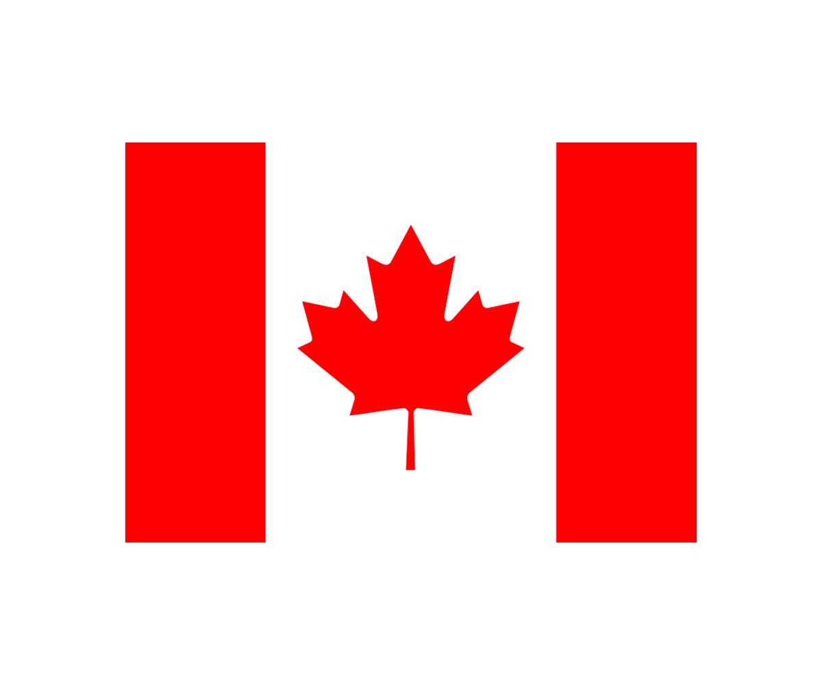 Fahne 90 x 150 cm Canada