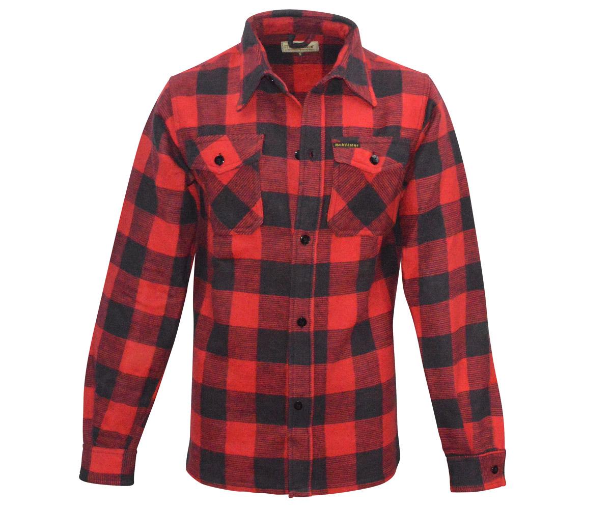 Holzfäller Hemd rot