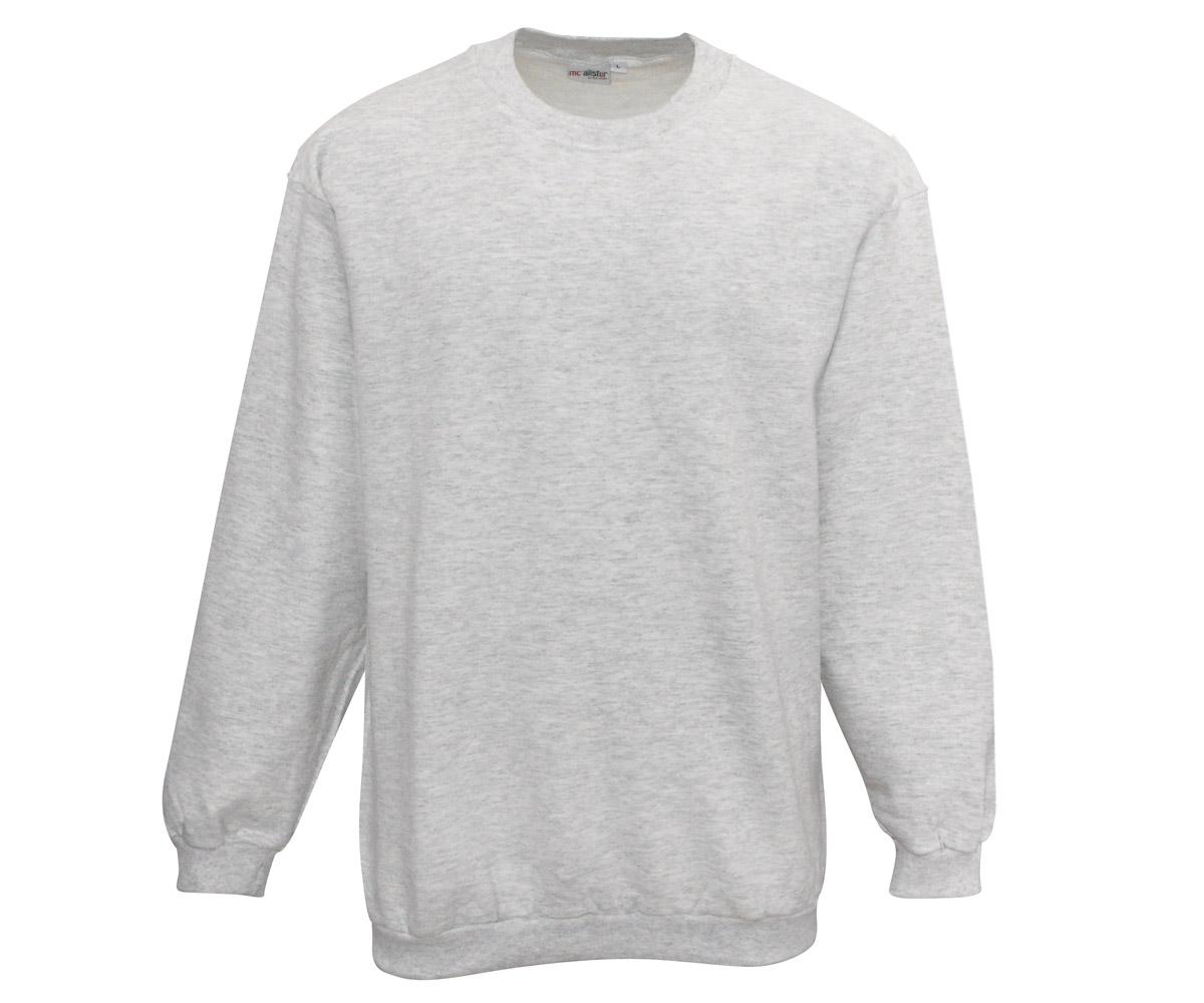 Active Wear Pullover grau meliert