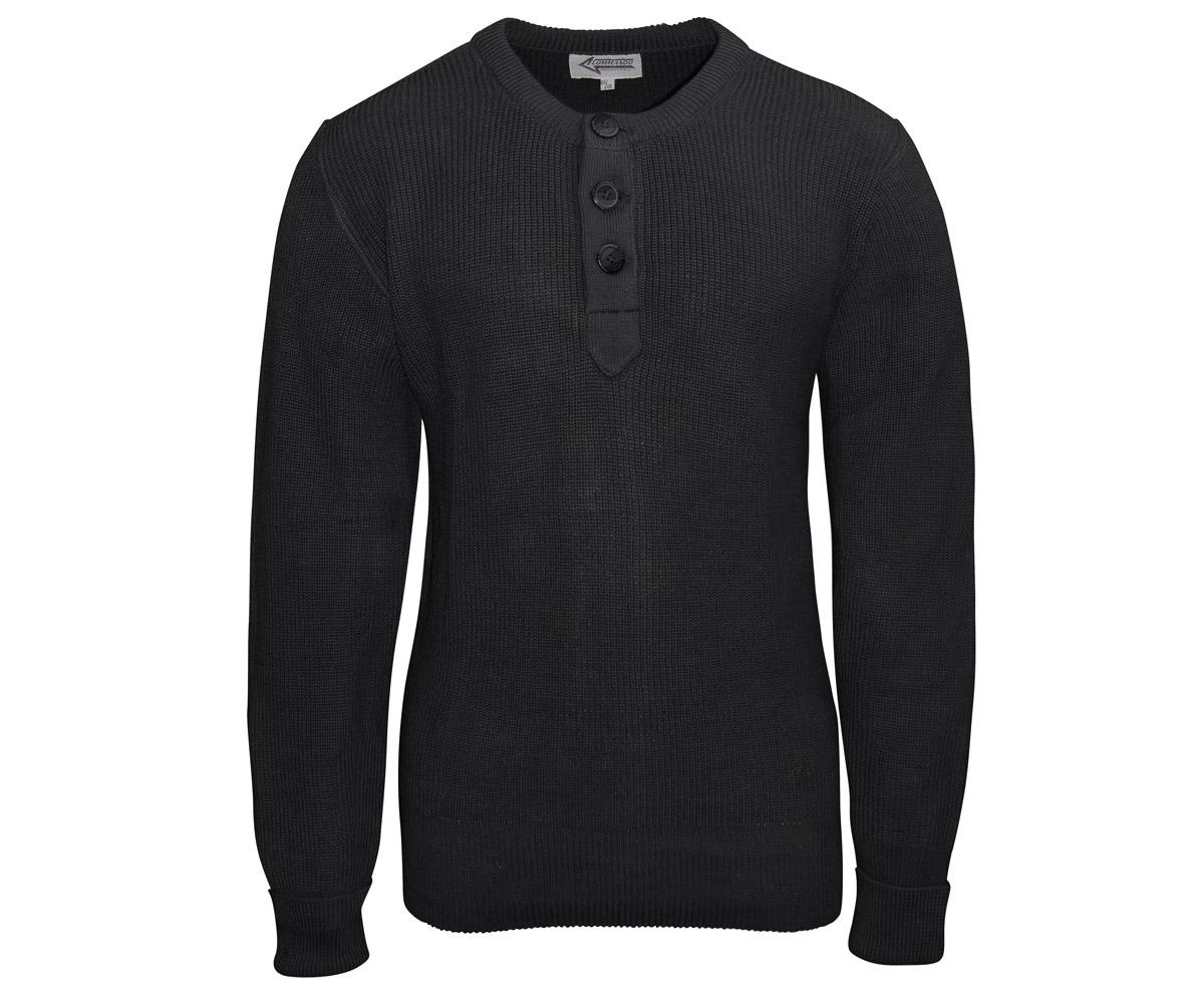 BW Gebirgsjäger Pullover schwarz
