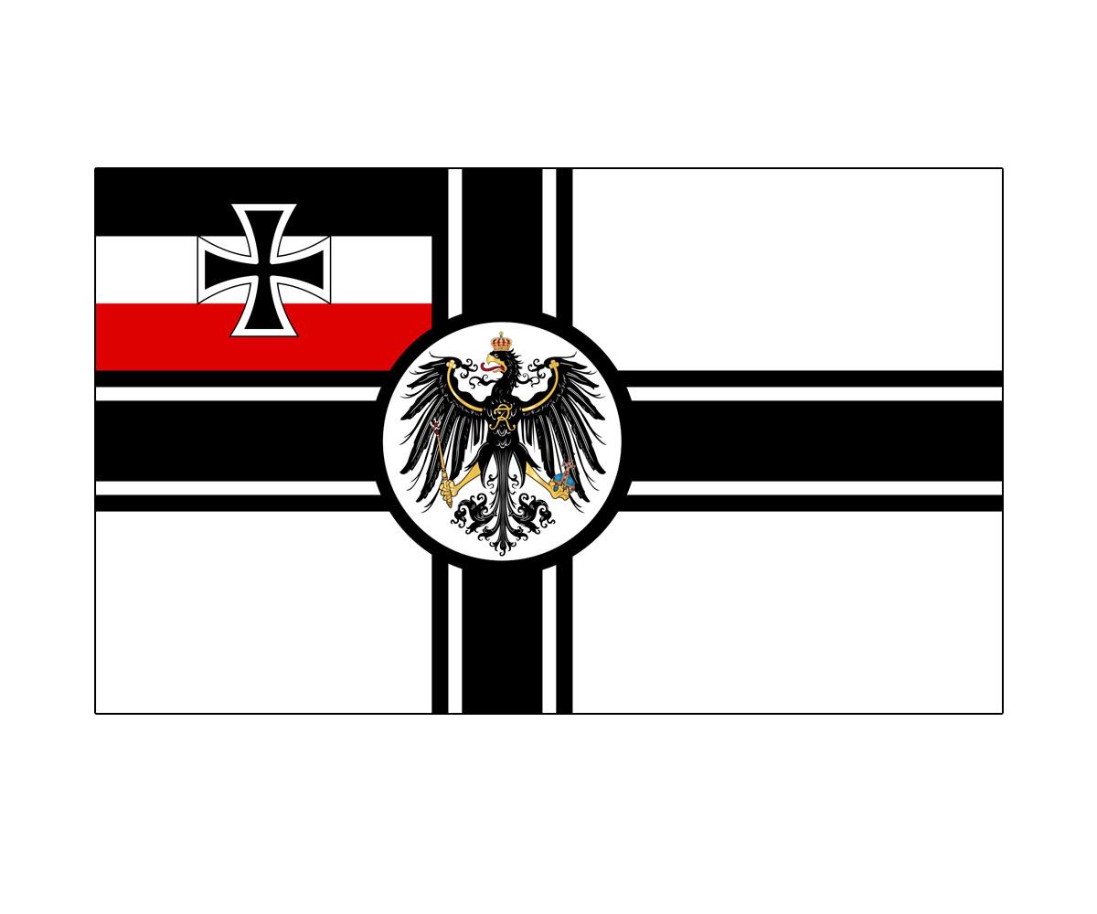 Fahne 150 x 250 cm Kaiserliche Marine