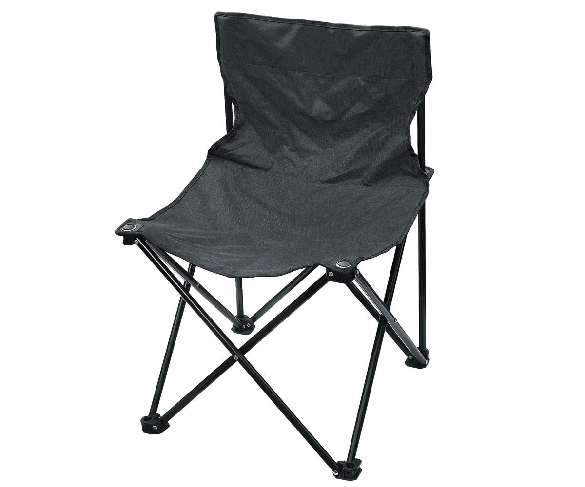 Outdoor Camping Faltstuhl schwarz